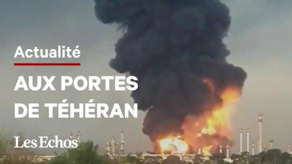 Un incendie s'est déclaré dans une raffinerie proche de Téhéran