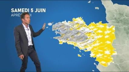 Illustration de l'actualité Bulletin météo pour votre samedi 5 juin 2021