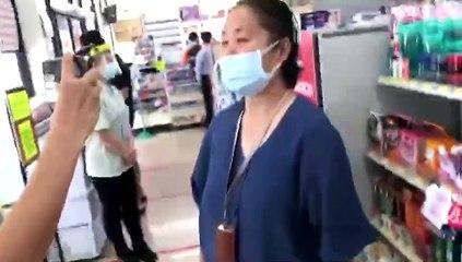 พนง.เซเว่น ช่วยคุณป้าลงทะเบียนวัคซีน
