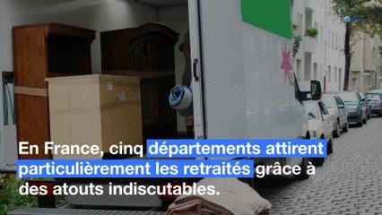 Les 5 départements français que préfèrent les retraités