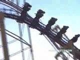 X montagne russe looping  roller coaster
