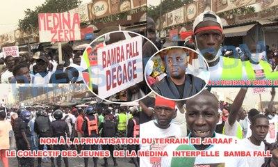 Non à l a privatisation du terrain de Jaraaf: Le Collectif des jeunes de la Médina interpelle Bamba Fall