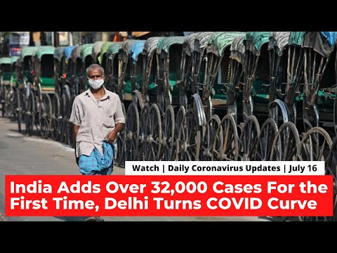 India Adds Over 32,000 News Cases, Delhi Turns COVID Curve | COVID-19 Updates