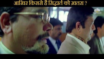 From whom does Sidharth have danger Scene   Raju Chacha (2000)    Ajay Devgn    Rishi Kapoor   Kajol    Tiku Talsania   Smita Jaykar   Johnny Lever   Bollywood Movie Scene  