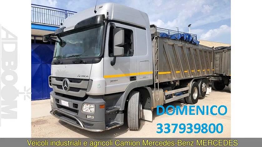Camion MERCEDES-BENZ MERCEDES ACTROS