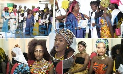 la cérémonie de graduation de Fantaisika Beauty Academy à City Business Dakar