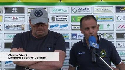 Colorno - Cittadella V.M. 2-0, le interviste a mister Bernardi e al ds Vicini