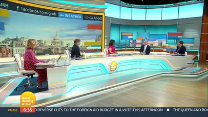 Dr Hilary Jones, Susanna Reid and Richard Madeley debate whether the easing of the final Covid restrictions should be delayed - Good Morning Britain