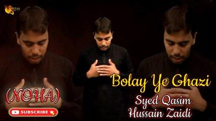 Bolay Ye Ghazi   Noha   Syed Qasim Hussain Zaidi   Labaik Labaik