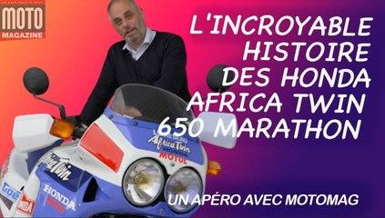 Africa Twin Marathon, l'histoire du Dakar accessible à tous - Un Apéro avec Moto Magazine