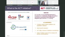 ACT – Assessing low-Carbon Transition: launch of the Glass methodology public consultation and road test with companies