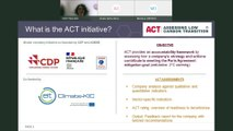 ACT – Assessing low-Carbon Transition: launch of the Pulp & Paper methodology public consultation and road test with companies