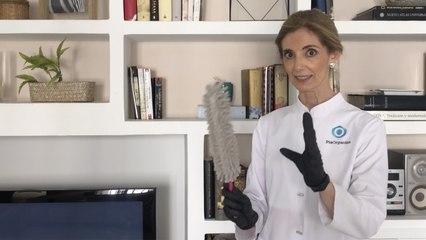 Cómo limpiar el polvo de una estantería lacada: @PiaOrganiza te lo explica