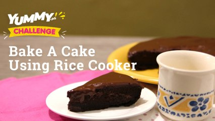 How To Make Chocolate Cake In A Rice Cooker   Yummy PH