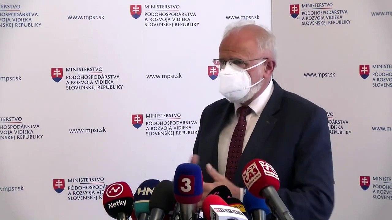 ZÁZNAM: Vyhlásenie ministra pôdohospodárstva J. Mičovského
