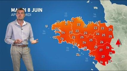 Illustration de l'actualité La météo de votre mardi 8 juin 2021
