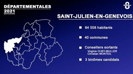 Canton de Saint Julien-en-Genevois