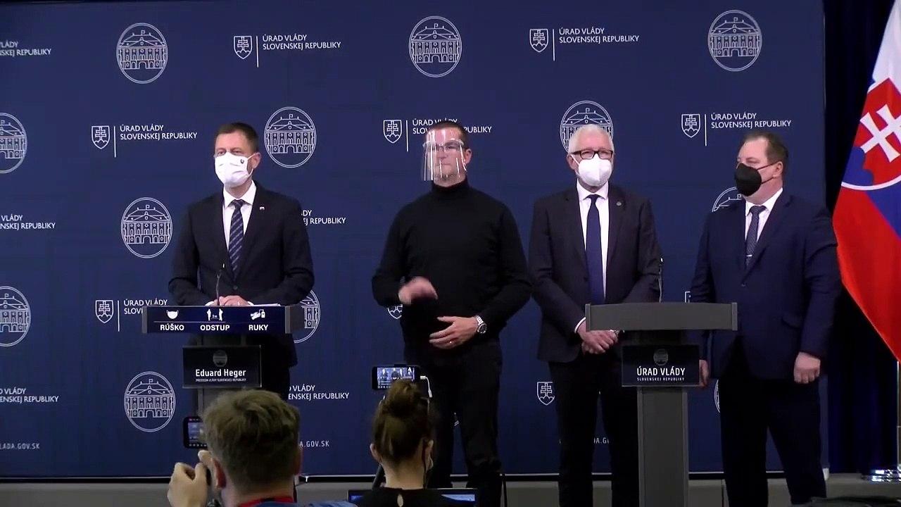 ZÁZNAM: Premiér E. Heger o rozvoji vedy a výskumu