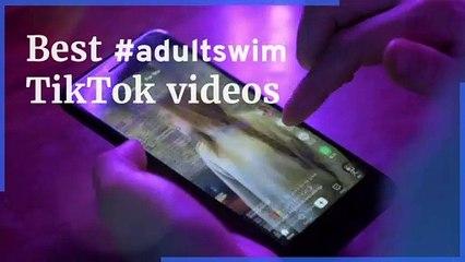 The best #adultswim trend TikTok compilation