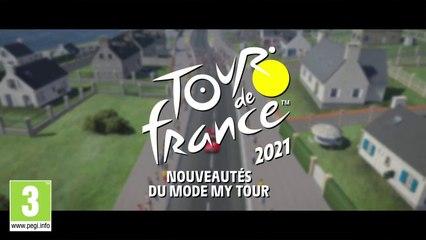 Tour de France 2021 - Le teaser du nouveau mode My Tour Tour de France 2021 !