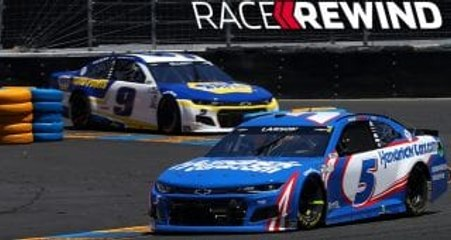 Race Rewind: Larson wins at home, tames Sonoma's twists and turns