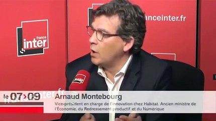A. Montebourg - La France est le seul pays qui porte l'intérêt collectif Européen