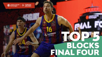 Top 5 Blocks of the Final Four!