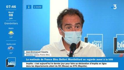 L'invité de France Bleu Belfort : Jean-Emmanuel Casalta, le directeur du réseau France Bleu