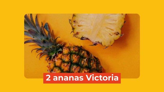 Recette du carpaccio d'ananas à la menthe
