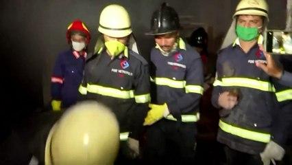 เกิดเหตุไฟไหม้โรงงานสารเคมีอินเดีย ดับแล้ว 18 ราย