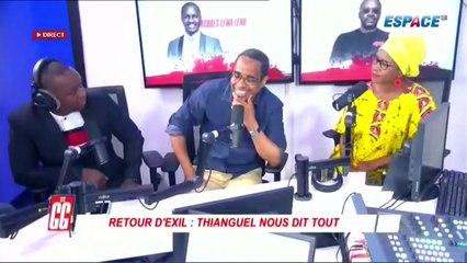 Souleymane Thian'ghel de l'UFDG de retour après un exile de 5 ans révèle