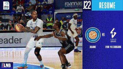 Roanne vs. Lyon-Villeurbanne (75-89) - Résumé - 2020/21