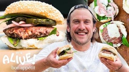 Brad Makes Burgers