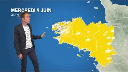 Illustration de l'actualité Bulletin météo pour le mercredi 9 juin 2021