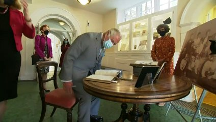 Prince Charles marks 140 years of Somerville College