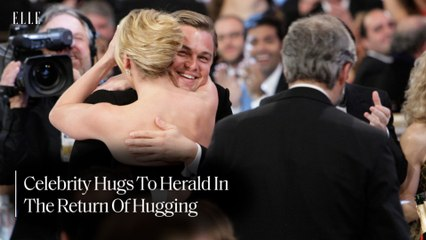 Celebrity Hugs To Herald In The Return Of Hugging