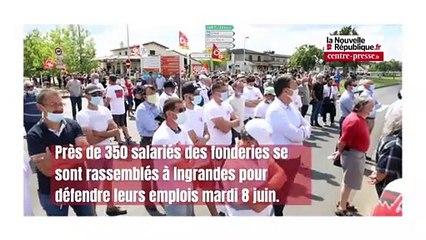 VIDEO. Fonderies du Poitou : nouvelle journée de mobilisation