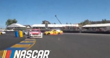 Watch Suarez and McDowell's run-in at Sonoma from the 48 bumper cam