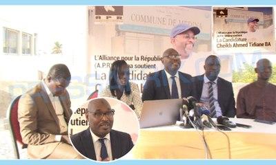 Elections locales 2021: Les responsables de l'APR  de la Médina ont porté leur choix sur la candidature de Cheikh Ahmed Tidiane Ba