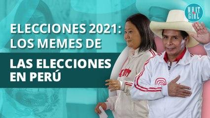 Memes de la Segunda Vuelta de las Elecciones en Perú: Keiko Fujimori vs Pedro Castillo | Memes of the Second Round of the Elections in Peru: Keiko Fujimori vs Pedro Castillo