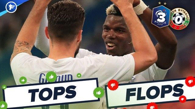 Les Tops et Flops de France-Bulgarie
