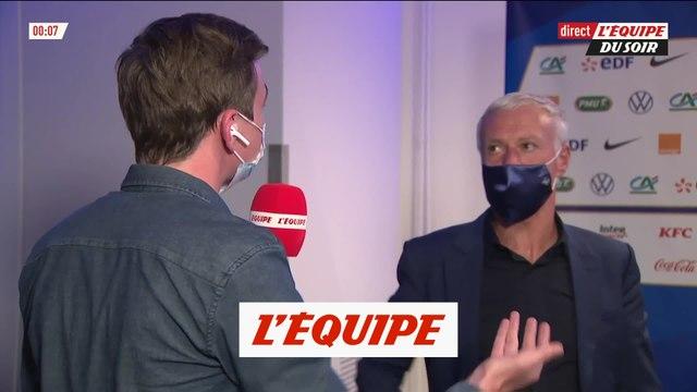 Deschamps répond à Giroud - Foot - Bleus