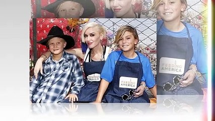 Gavin Rossdale held Stefani's hand at son Kingston's birthday party, and paid a