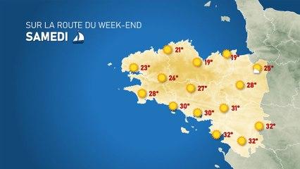 Illustration de l'actualité Sur la route du week-end: confirmation d'un temps pleinement estival devenant très chaud sur le sud !