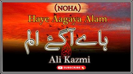 Haye Aagaya Alam   Noha   Ali Kazmi   Labaik Labaik