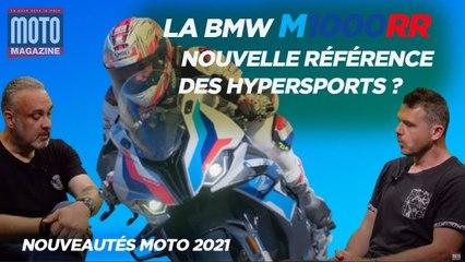 BMW M1000RR, nouvelle référence des hypersports - Essai Moto Magazine