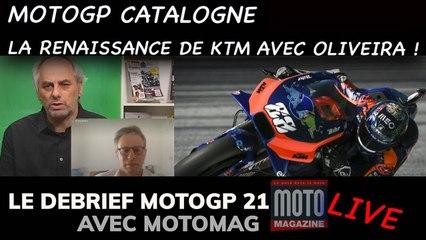 Oliveira sonne le réveil pour KTM - Debrief MotoGP 2021 (Motomag)