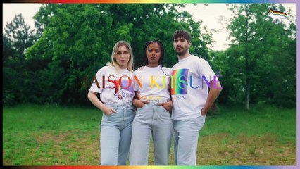 """Maison Kitsuné unveils """"PRIDE"""" collection in collaboration with The Trevor Project"""