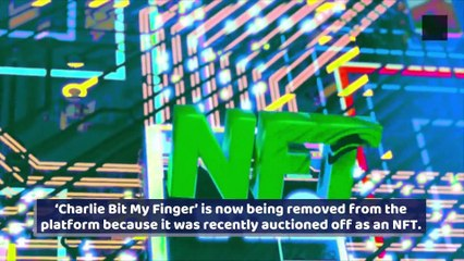 'Charlie Bit My Finger' Removed From YouTube After Being Sold as NFT