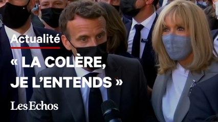 «Je vais toujours au contact, à portée d'engueulade » : la réponse d'Emmanuel Macron après la gifle